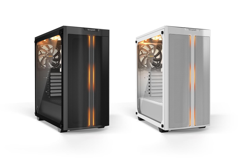PCケースPURE BASE 500DXは、ブラックとホワイトの2色をラインナップ