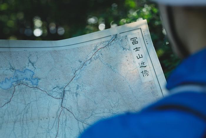 【星のや富士】古地図