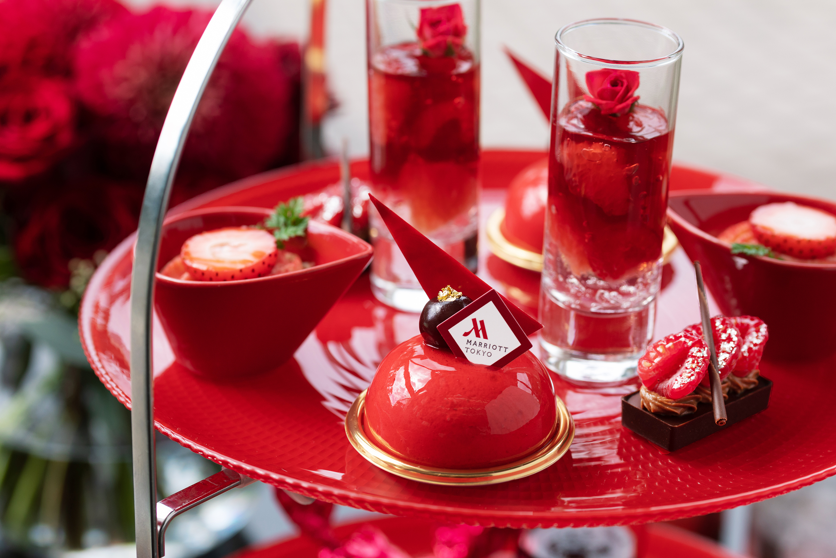 TOKYO RED Afternoon Tea(2名分)