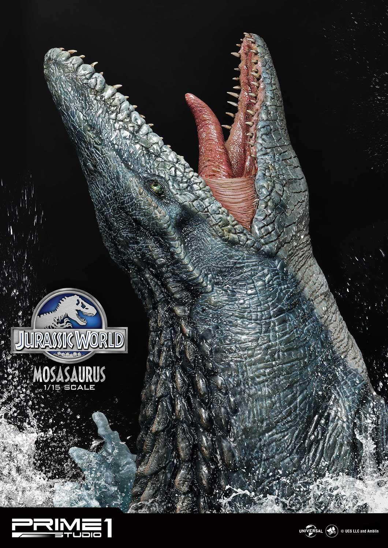 """ジュラシック・ワールドで絶大な存在感を放った人気恐竜『モササウルス』が横幅""""90cmオーバー""""の迫力サイズで登場!"""