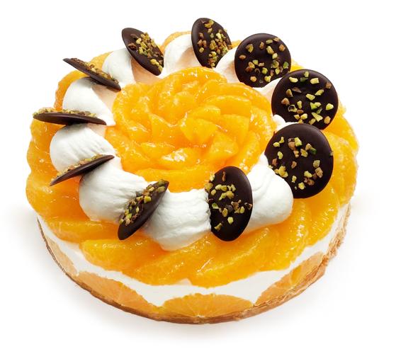 愛媛県 宇和島 西谷農園産「清見オレンジ」のレアチーズケーキ