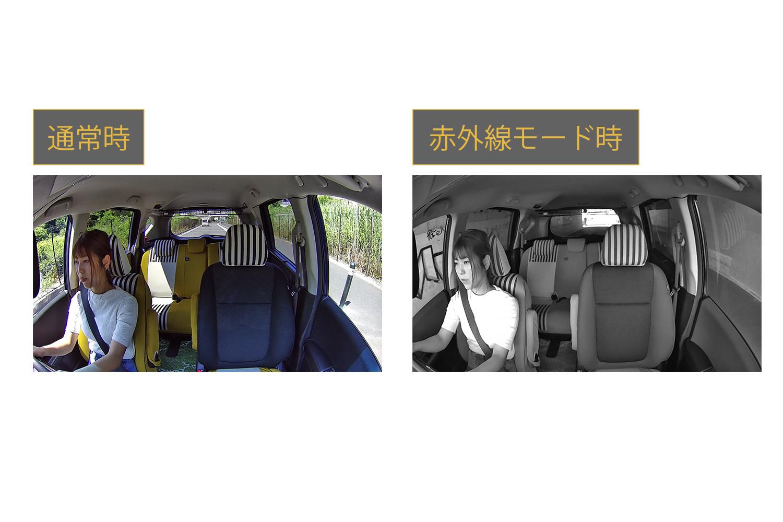 赤外線モードの撮影イメージ