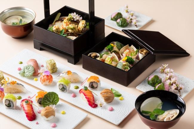 【東京マリオットホテル】 桜咲き誇る御殿山で愉しむ 春を彩るお花見ランチメニュー 画像