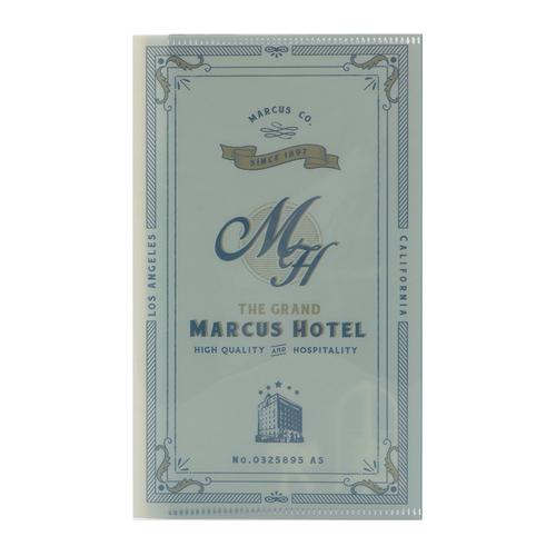 「マスクケース Hotel」価格:98円/サイズ:W12×H20cm ポケット数:3