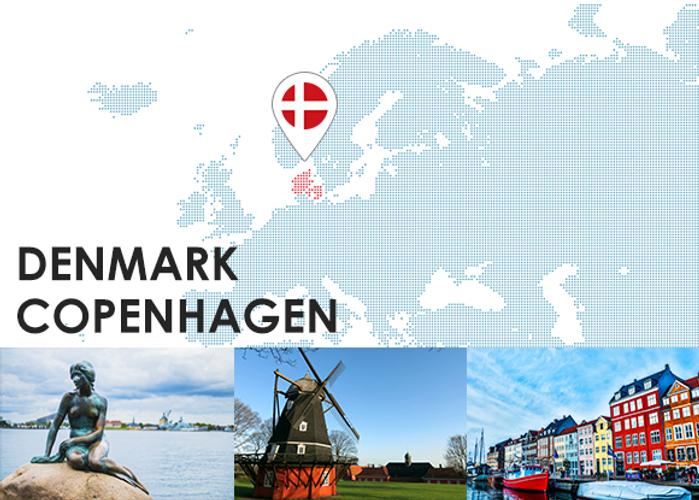 童話の街、コペンハーゲン♪
