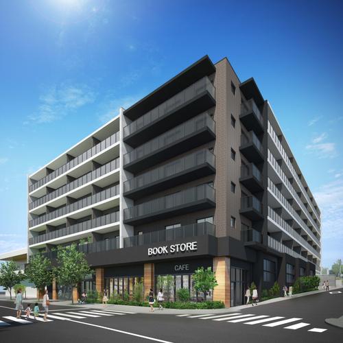 「KNOCKS横浜弥生台」の外観(完成イメージ)