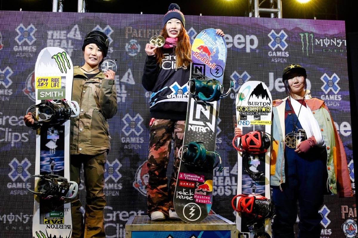 鬼塚 雅選手(星野リゾート所属)が初優勝|X Games Aspen2020 Pacifico Wo... 画像