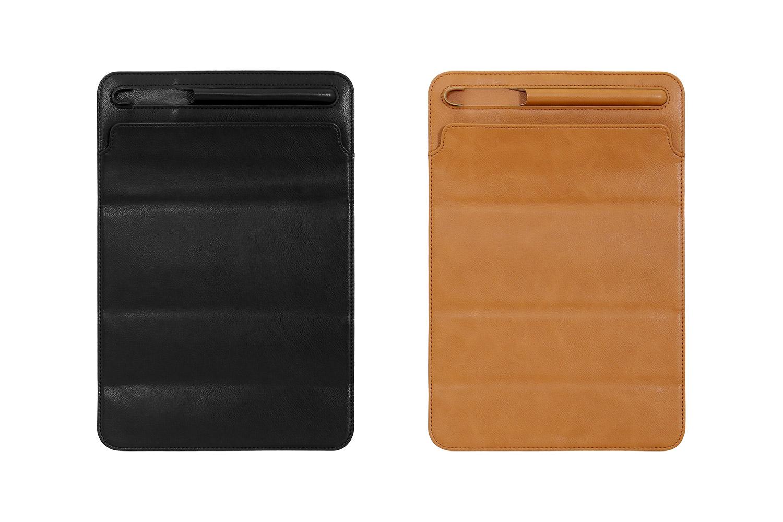 iPad Pro用ケースOWL-CVIMU1101とOWL-CVIMU12901は、ブラックとキャメルの2色をラインナップ