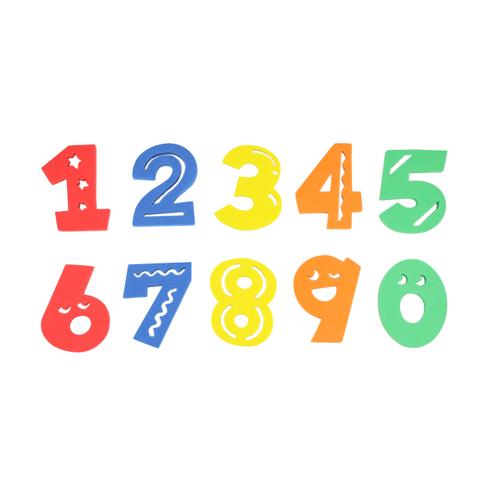 「EVA お風呂トイ 10P Number」価格:275円 ※5月中旬発売予定