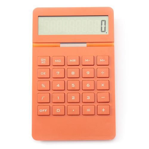 電卓(オレンジ)