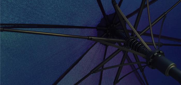 風の強度もある傘です