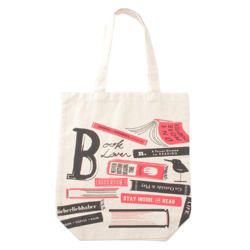 「ショッピングバッグ Booklover」