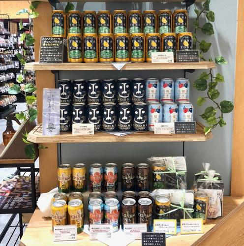 長野県限定発売の「軽井沢高原ビール」3種も販売しております!