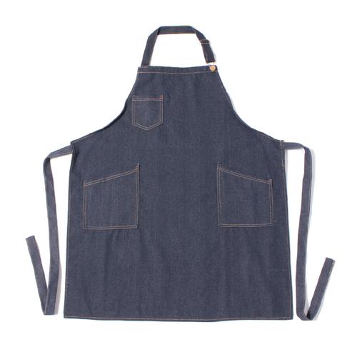 「デニムエプロン Indigo」価格:980円/サイズ:W75×H85cm