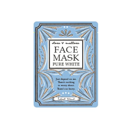 「フェイスマスク Pure White」価格:98円