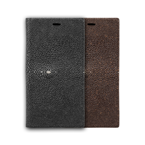 Galuchat Leather Book Case
