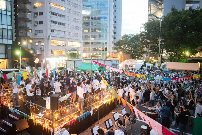 前回の開催イメージ(2018年9月9日 第4回「渋谷ズンチャカ!」)
