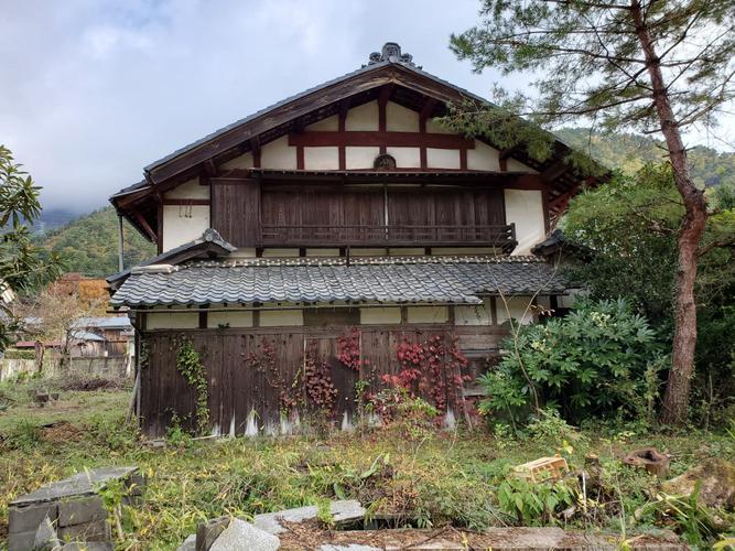 移築対象の近江古民家(滋賀県)