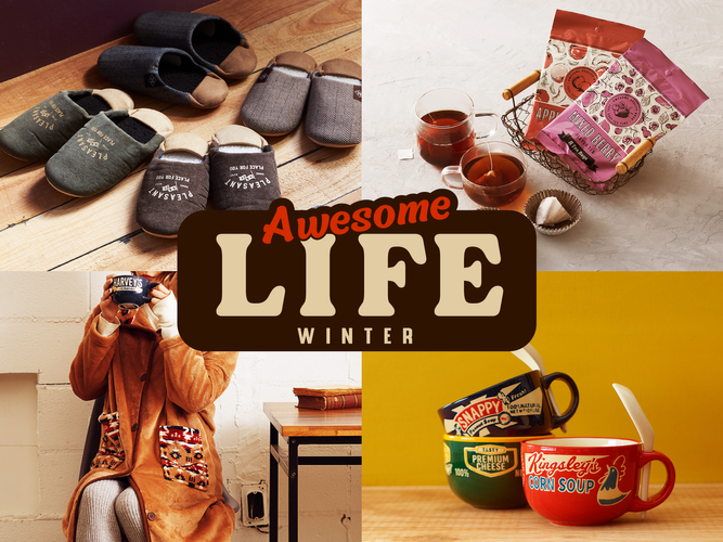 AWESOME STORE(オーサムストア)「AWESOME LIFE –WINTER-」