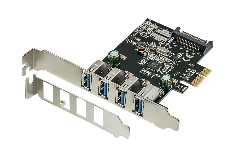OWL-PCEXU3E4LS はUSB 3.0 Type-A端子を4ポート増設可能