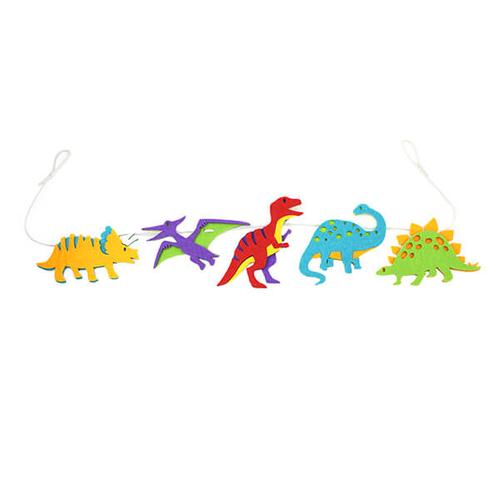 「フェルトガーランド Dinosaur」価格:319円