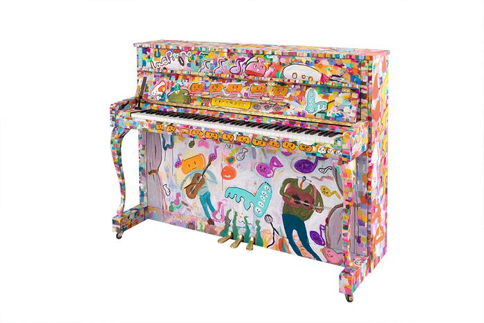 """ヤマハのアップライトピアノ 愛称""""LovePiano"""""""