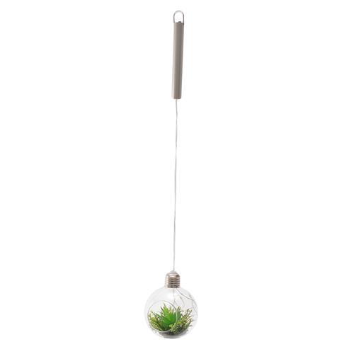 「ハンギング フェイクグリーン ライト」価格:890円/サイズ:W9×H51cm
