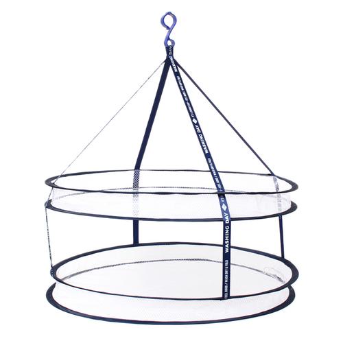 「折り畳みランドリーネット」価格:319円/サイズ:φ60×H65cm
