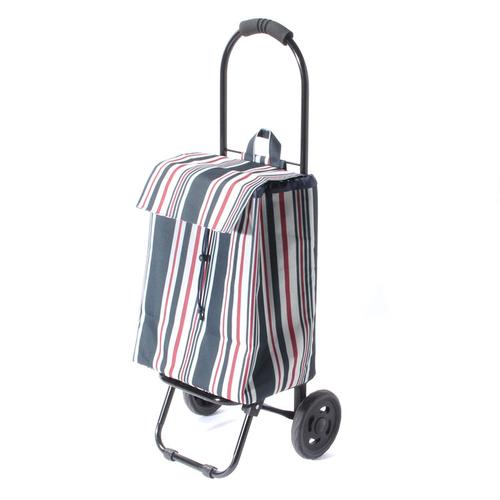「ショッピングカート Stripe」価格:1,980円/サイズ:W33×D30×H87cm