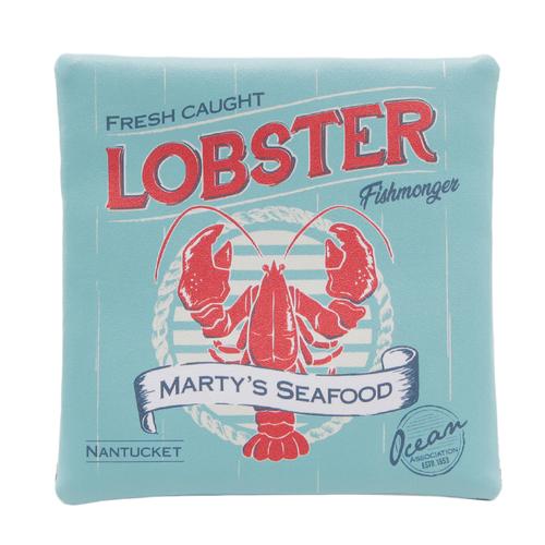 「スクエアポーチ Lobster」価格:690円/サイズ:W16×H16cm