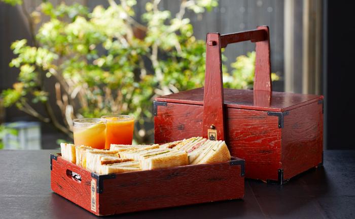 珈琲ショップナカタニの「舞妓さんも愛する玉子サンド」