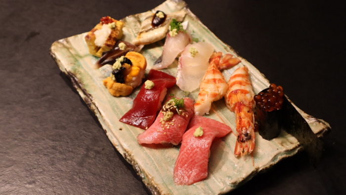 こだわり抜いた最高級の食材を使ったお寿司