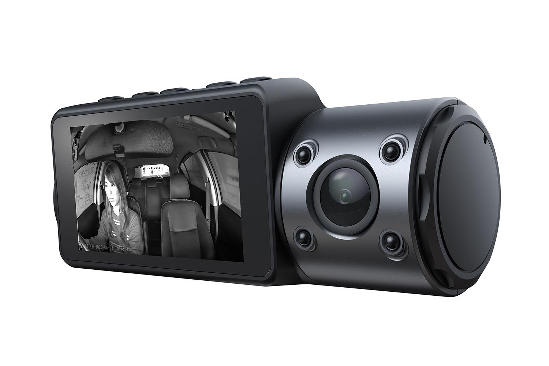 車内カメラの周囲に4基の赤外線LEDを備えます