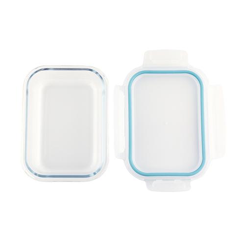 「ガラス フードコンテナ」耐熱ガラス製のフードコンテナ。電子レンジやオーブンでも使用できるので、食品の保存から調理まで幅広く使える便利なアイテムです。