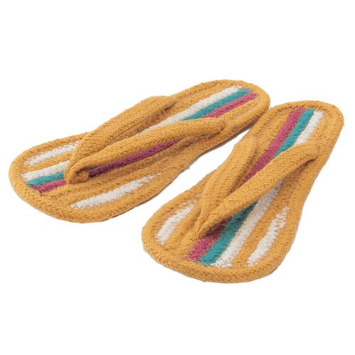 「コットンサンダル Stripe M」価格:390円/サイズ:22.5~24.5cm