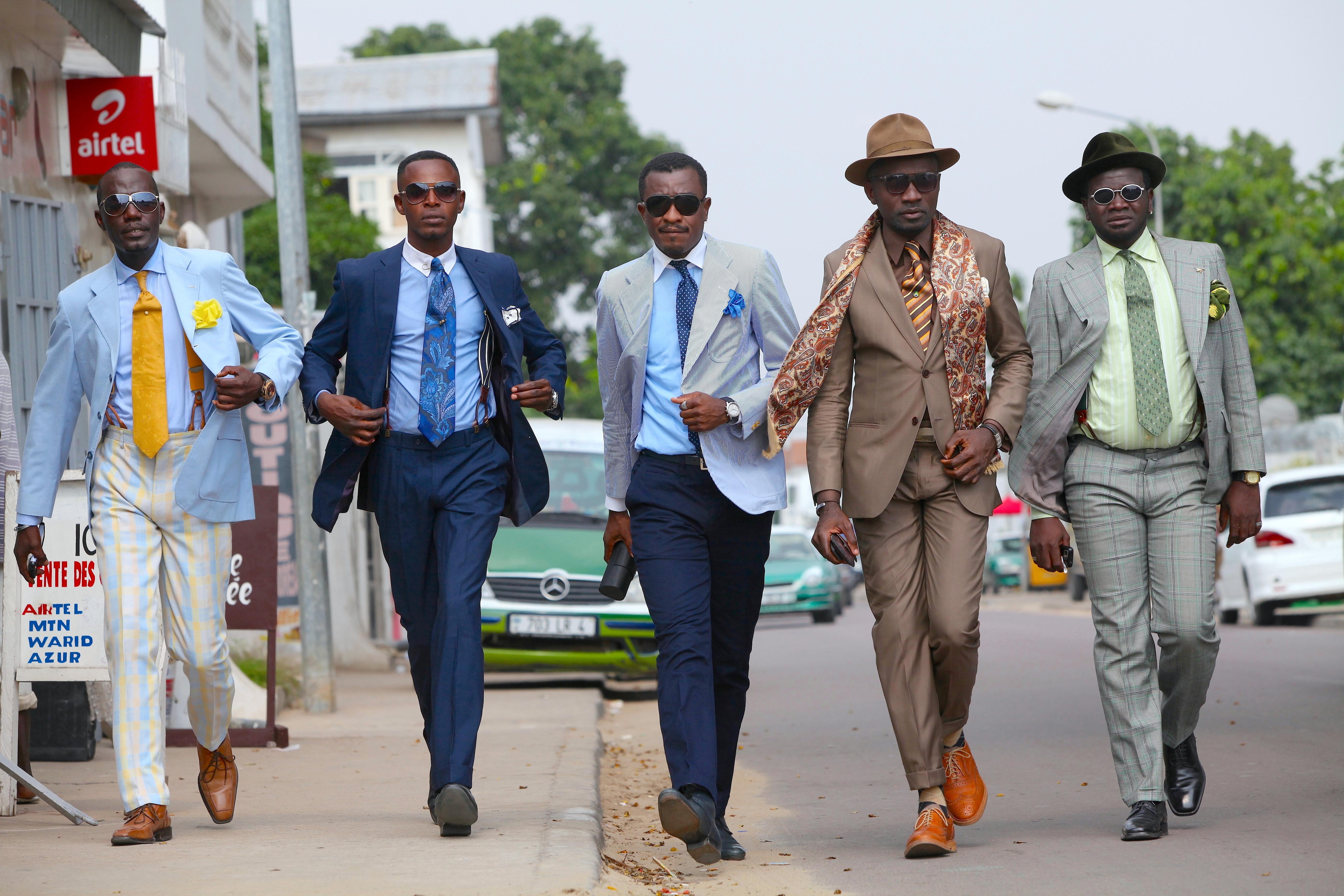 コンゴのオシャレなジェントルマン「SAPEURモデル」発表 | NEWSCAST