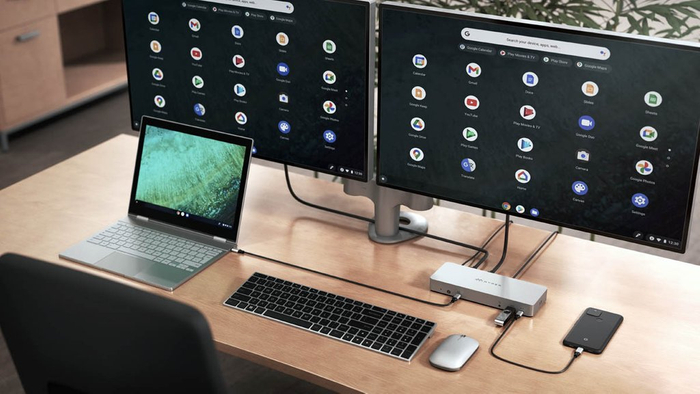 HyperDrive 14ポート USB-Cドッキングステーション for Chromebook