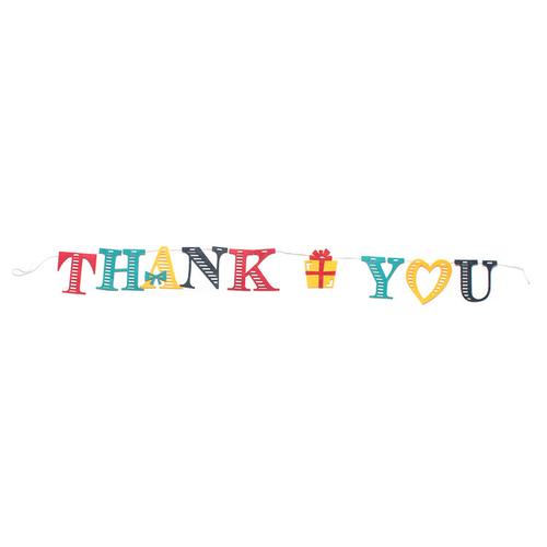 「フェルトガーランド Thank You」価格:290円