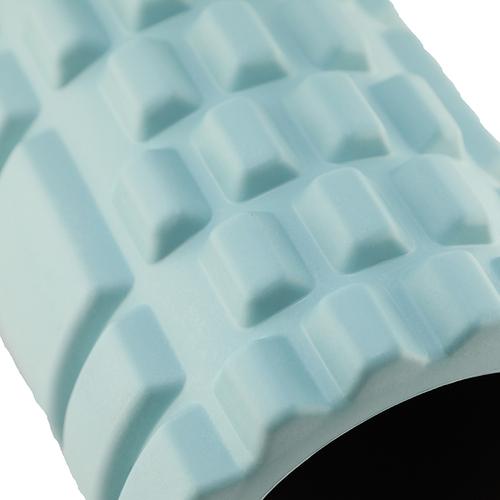 「ヨガ ローラー BL」ふくらはぎや背中など気になる部分に、程良い刺激でリフレッシュ。ブルーの色で男性でも使いやすいデザインです。