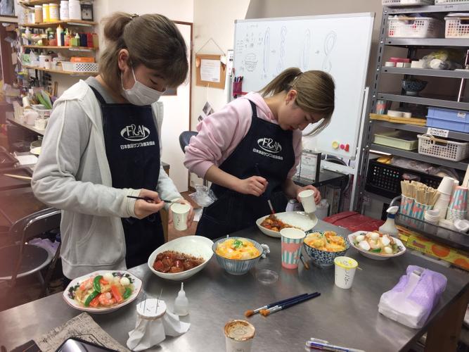 授業風景:料理作り