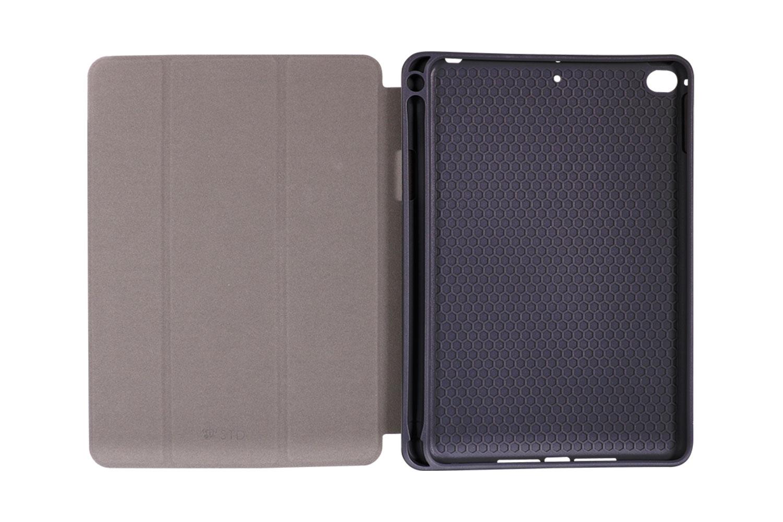Apple Pencilホルダー付き手帳型ケース「OWL-CVIB7901」は、衝撃からiPad miniを守るハニカム構造を採用しています