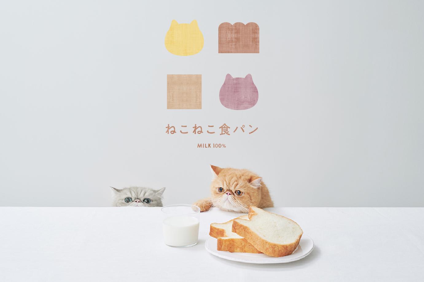 ねこの形の高級食パン専門店「ねこねこ食パン」が東京・表参道に新規オープン! 画像
