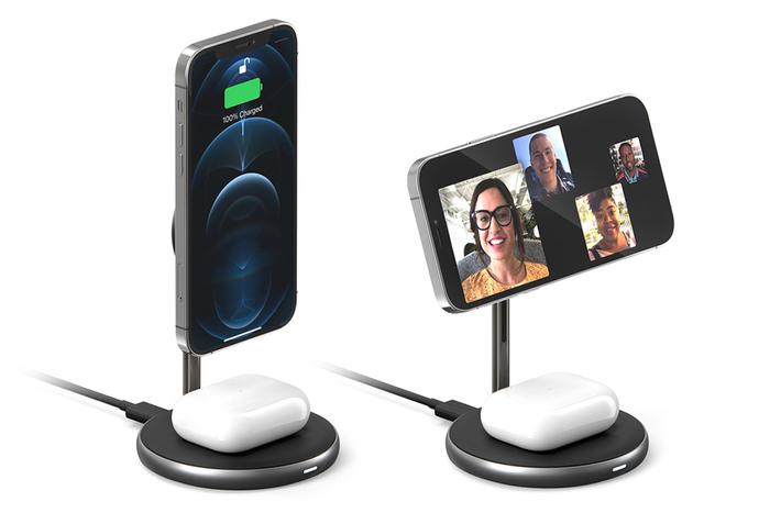 2in1でiPhoneとAirPods/Proを同時充電
