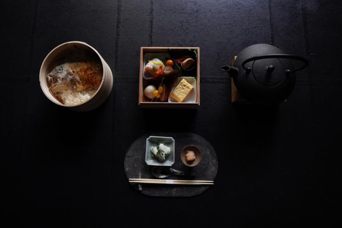 【朝食】天然甘鯛の出汁茶漬け御膳「ぐじごはん朝食」