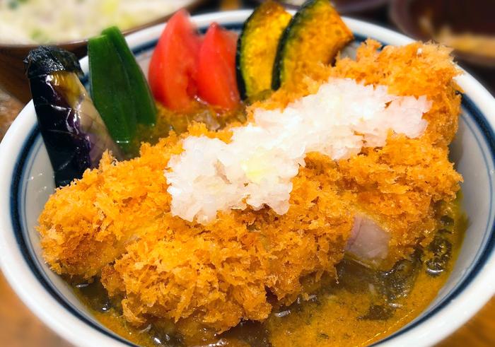 冷やしカレーかつ丼(渋谷かつ吉限定)1