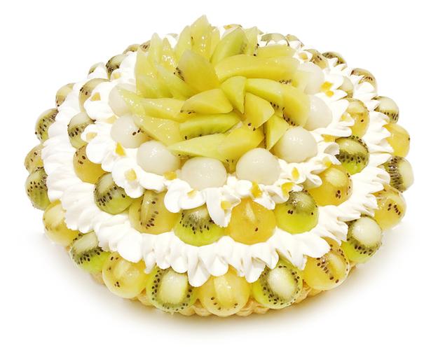 【千葉そごう店】2種のキウイとレモン餡のケーキ