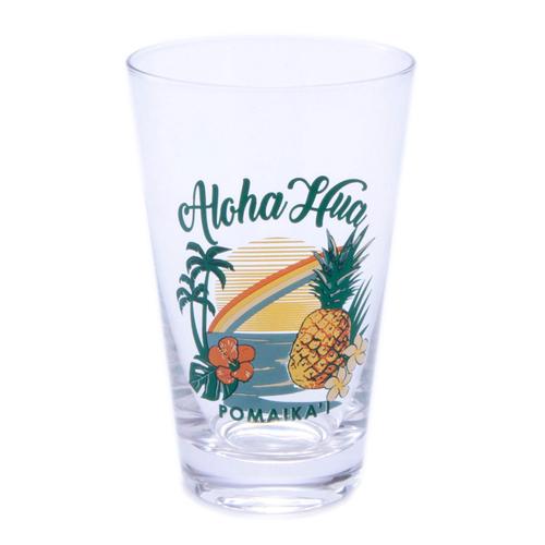 「グラスタンブラー Aloha M」価格:495円