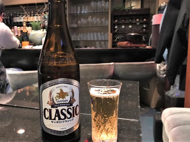 札幌の瓶ビール